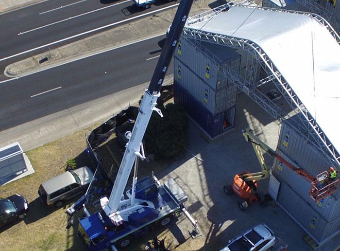 Crane Hire Melbourne 01